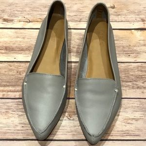 J. Crew Pointed Leather Flats Size 7